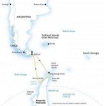Круиз в Антарктиду на мега-яхте «Le Boreal»